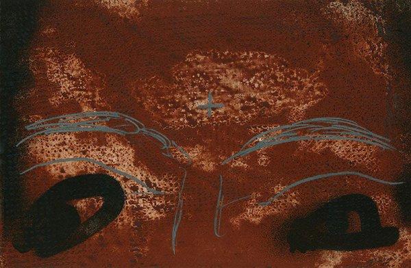 Mirada by Antoni Tapies