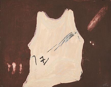 Samarreta by Antoni Tapies