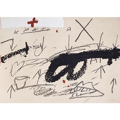 Variació 3 by Antoni Tapies at Grabados y Litografias.com