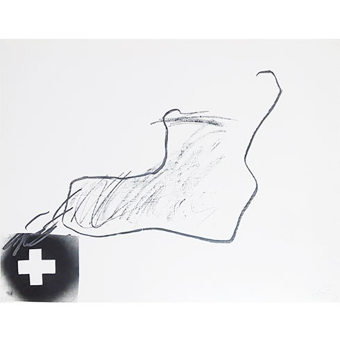 Variaciones Sobre Un Tema Musical 8 by Antoni Tapies at Grabados y Litografias.com