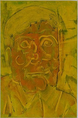 Hans Burkhardt In Yellow by Arthur Secunda