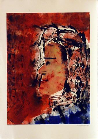 Masked Nun by Arthur Secunda