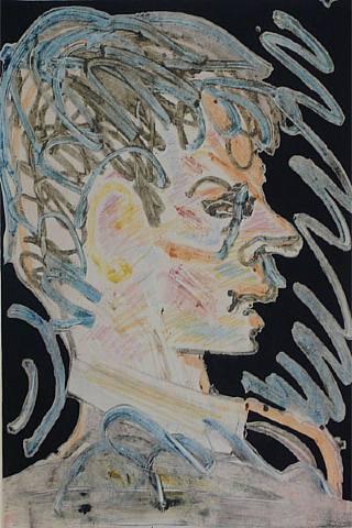 Merce Cunningham by Arthur Secunda