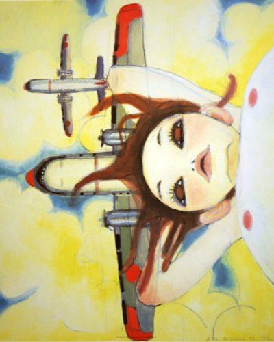 Fallin' Manma Air by Aya Takano