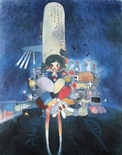 Little Stars Of City Child by Aya Takano