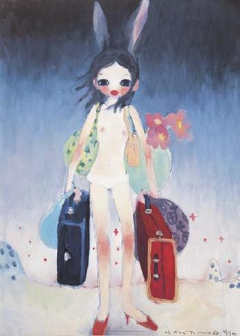 Mail Mania Mami, Standing In A Storm by Aya Takano at
