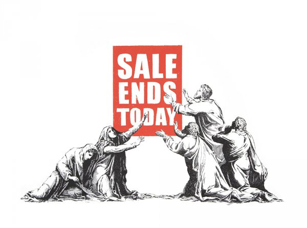 Sale Ends (2017) by Banksy