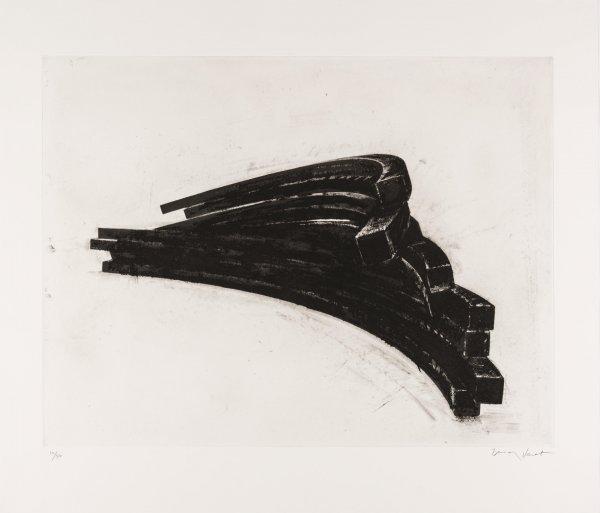 Effondrement: Arcs 01 by Bernar Venet