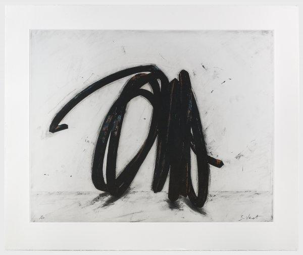 Indeterminate Line (ii) by Bernar Venet