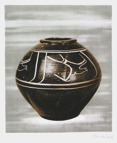 Black Jar by Bernard Leach