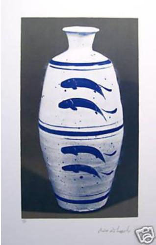 Four Fish Vase by Bernard Leach