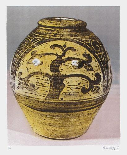 Tree Jar by Bernard Leach