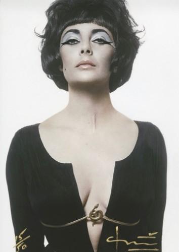 Cleopatra / Liz Taylor by Bert Stern at Bert Stern