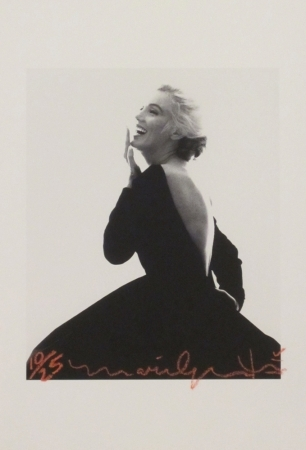 Marilyn: Dior Dress (iii) by Bert Stern at