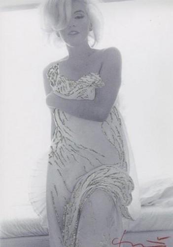 Marilyn. Jeweled Toga by Bert Stern
