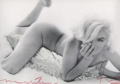 Marilyn Monroe. Baby Nude by Bert Stern
