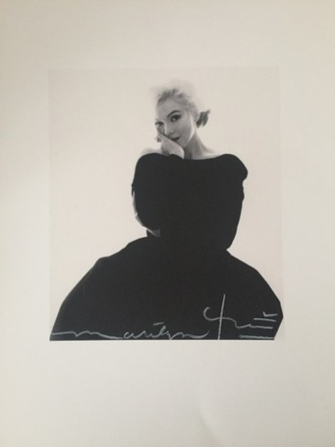 Marilyn Rare Black Dress (1962) by Bert Stern