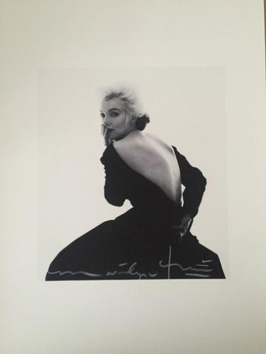 Marilyn In Famous Black Dress (1962) by Bert Stern