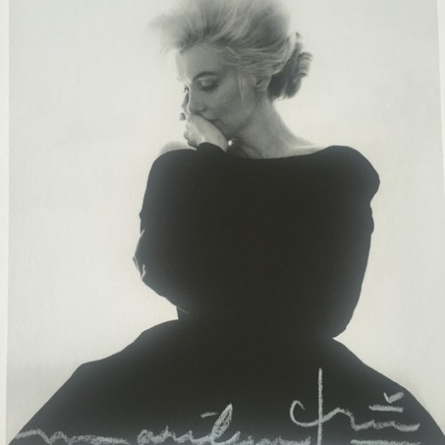 Marilyn In Vogue (1962) by Bert Stern