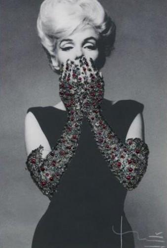 Ruby Gloves by Bert Stern