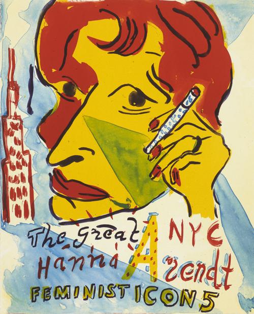 Feminist Icon 5 by Bob and Roberta Smith