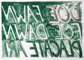 Doe Fawn by Bruce Nauman at