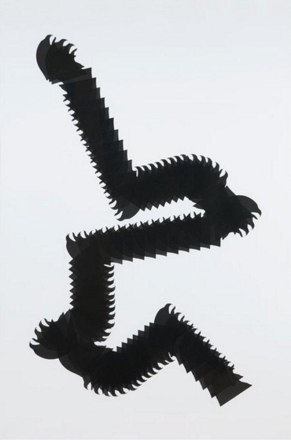 Snake Glyph 2 by Carlos Amorales