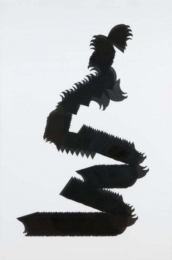 Snake Glyph 5 by Carlos Amorales