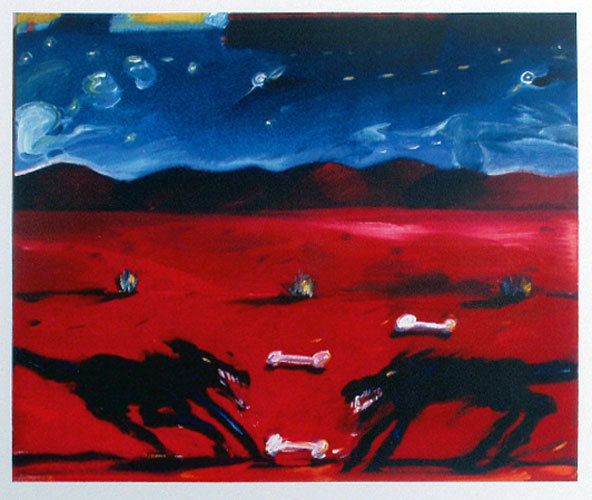 Greed by Carlos Almaraz at Carlos Almaraz