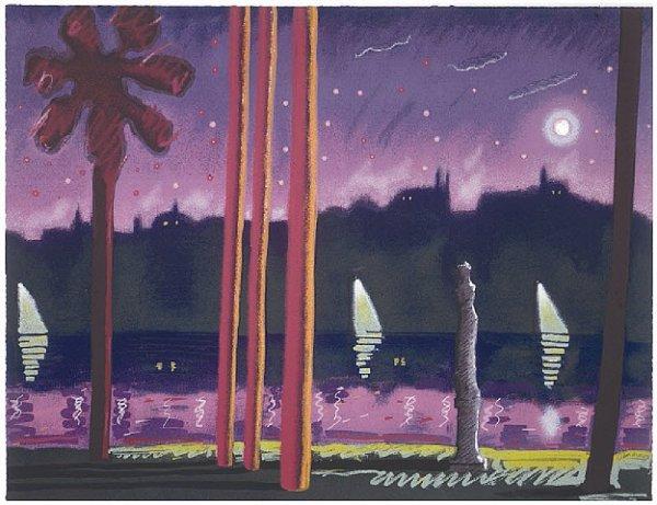 Sauve Como La Noche by Carlos Almaraz at Carlos Almaraz