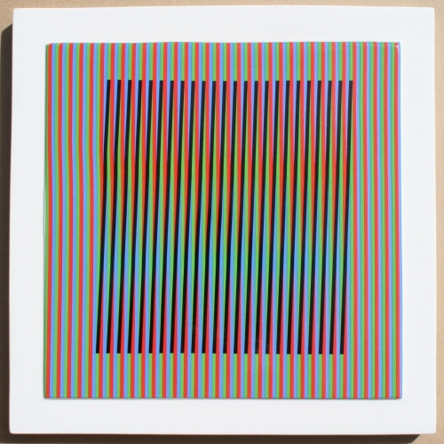 Céramique # 1 by Carlos Cruz-Diez at