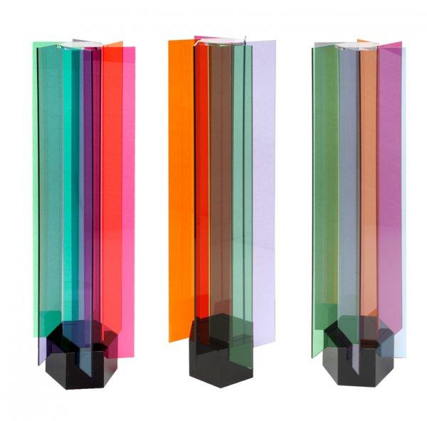 Transchromies A 6 Elements by Carlos Cruz-Diez