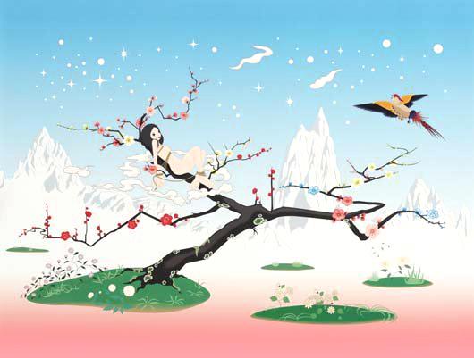 Japanese Apricot by Chiho Aoshima