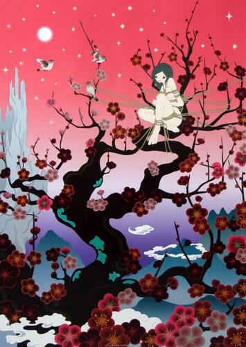 Japanese Apricot 2 by Chiho Aoshima at