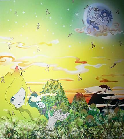 Yuyake Chan Miss Sunset by Chiho Aoshima at