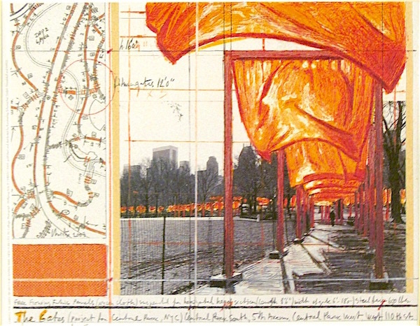 The Gates (a) by Christo