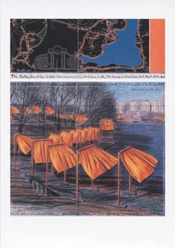 The Gates (m) by Christo at