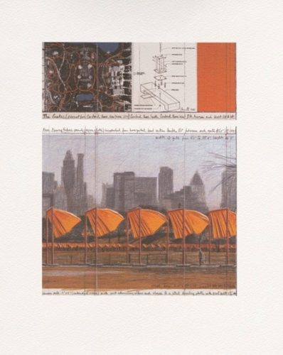 The Gates (c) by Christo at