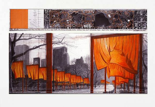 The Gates (b) by Christo at