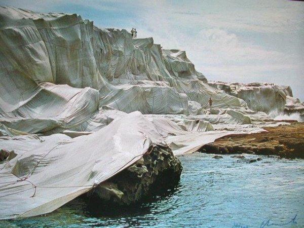 Wrapped Coast: Little Bay, Australia, 1969 by Christo