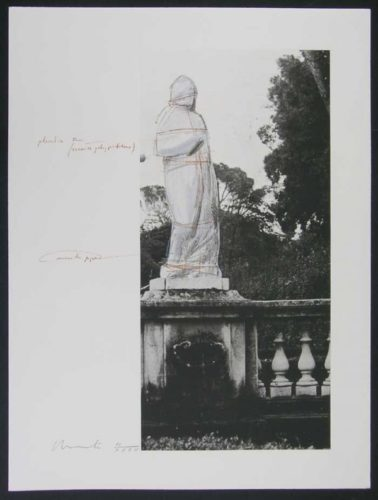 Wrapped Venus (project For Villa Borghese-rome) by Christo