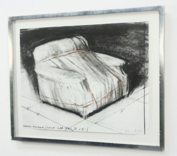 Wrapped Armchair by Christo