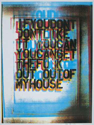 My House #2 by Christopher Wool