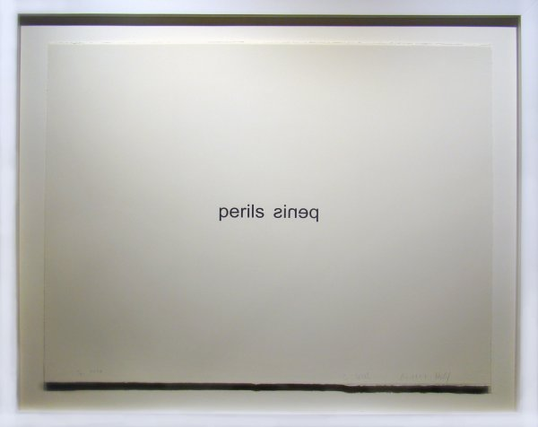 Perils Penis by Christopher Wool at