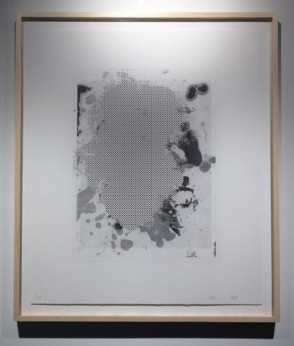 Portraits #1 (b&w) by Christopher Wool at