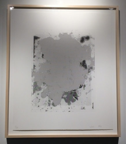 Portraits #3 (b&w) by Christopher Wool