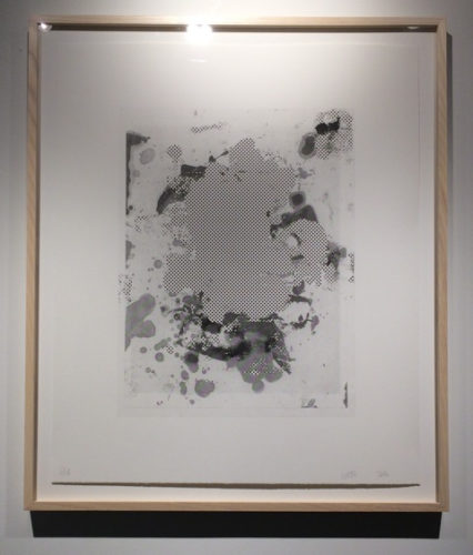 Portraits #4 (b&w) by Christopher Wool