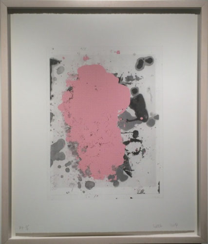 Portraits #5 (red) by Christopher Wool at