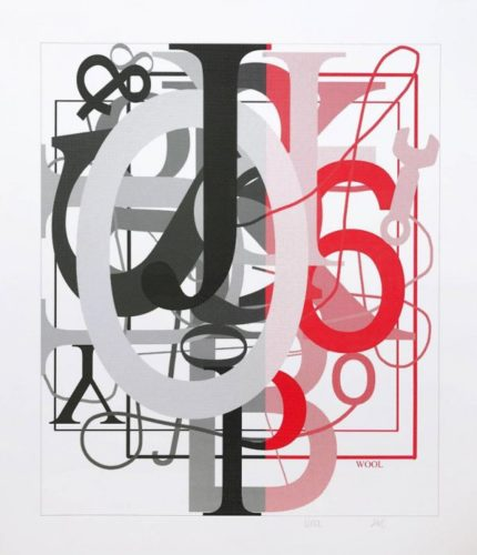 Untitled I by Christopher Wool