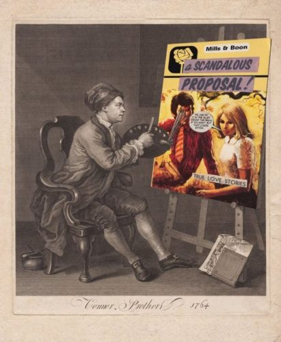 Hogarth's Masterpiece / A Scandalous Proposal by The Connor Brothers at